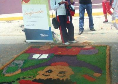 Actividad pública de sensibilización e incidencia para la prevención y erradicación del trabajo infantil.