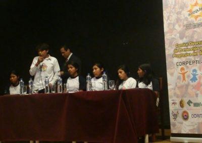 I foro interregional de niños y niñas trabajadores infantiles