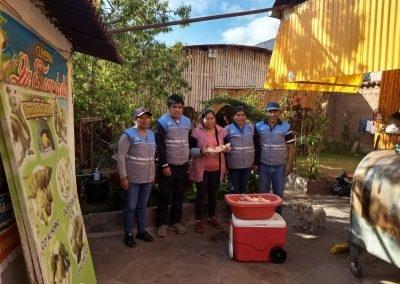 Comercialización de la carcasa de cuy mediante los Articuladores Comerciales en el distrito de Tipon - Cuzco
