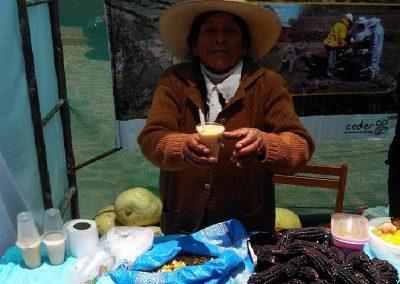 Participación de las Asociaciones y Organizaciones de Mujeres de Viraco en la IV Feria Agropecuaria Productiva, Artesanal y Gastronómica Viraco - Castila - Arequipa 2018