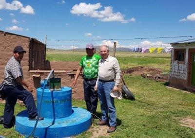 Pozo para agua de consumo humano