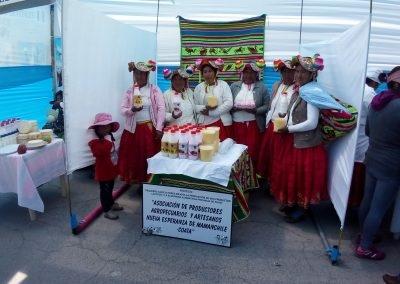 Asociación de Llachahui - Coata, feria Puno
