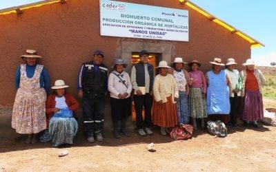 Seguridad alimentaria y desarrollo productivo en comunidades andinas – PER 72277 (2017 al 2018)