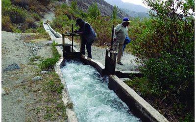 Modelo de gestión del agua, garantiza su disponibilidad y  sostenibilidad productiva en el Distrito de Omate (2018-2021)